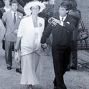 NLD/Blaricum/19881101 - Huwelijk van Joop van der Ende in Blaricum,