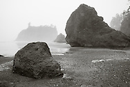 Rock formations at Ruby Beach, WA