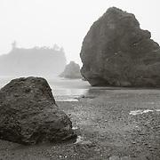 Rock formations at Ruby Beach, WA