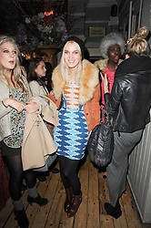 Georgie MacIntyre at a party to celebrate the 1st anniversary of Alice Temperley's label held at Paradise, Kensal Green, London W10 on 25th November 2010.