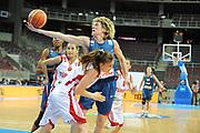 DESCRIZIONE : Riga Latvia Lettonia Eurobasket Women 2009 Qualifying Round Turchia Francia Turkey France<br /> GIOCATORE : Catherine Melain<br /> SQUADRA : Francia France<br /> EVENTO : Eurobasket Women 2009 Campionati Europei Donne 2009 <br /> GARA : Turchia Francia Turkey France<br /> DATA : 14/06/2009 <br /> CATEGORIA : recupero super<br /> SPORT : Pallacanestro <br /> AUTORE : Agenzia Ciamillo-Castoria/M.Marchi<br /> Galleria : Eurobasket Women 2009 <br /> Fotonotizia : Riga Latvia Lettonia Eurobasket Women 2009 Qualifying Round Turchia Francia Turkey France<br /> Predefinita :