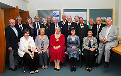 The Overseas (US & UK ) members of Mayo Associations pictured at Westport Town Council's civic reception for the Mayo Associations ahead of the world convention that was held in Westport...Pic Conor McKeown