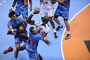 DESCRIZIONE : France Hand D1 Championnat de France D1 a Toulouse<br /> GIOCATORE : Kevynn NYOKAS<br /> SQUADRA : Paris<br /> EVENTO : FRANCE Hand D1<br /> GARA : Toulouse Paris<br /> DATA : 19/10/2011<br /> CATEGORIA : Hand D1 <br /> SPORT : Handball<br /> AUTORE : JF Molliere <br /> Galleria : France Hand 2011-2012 Action<br /> Fotonotizia : France Hand D1 Championnat de France D1 a Paris <br /> Predefinita :