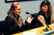Latin America 2014 Conference<br /> Adelante!<br />  'After Chavez, the Empire Strikes Back - Defending Venezuela Against US intervention, Media Lies and Violent destabilisation' seminar.<br /> <br /> Venezuelan ambassador, H.E. Roc&iacute;o Maneiro.