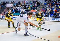 ROTTERDAM  - Wiegert Schut (Adam)  finale NK  zaalhockey hoofdklasse, Den Bosch H1-Amsterdam H1 (2-5) .   COPYRIGHT  KOEN SUYK
