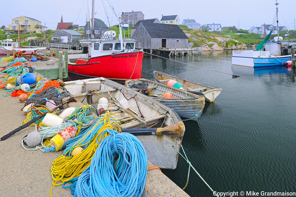 Fishing village<br /> Peggy's Cove<br /> Nova Scotia<br /> Canada