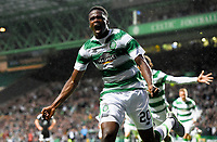 29/07/15 UEFA CHAMPIONS LEAGUE 3RD RND QUALIFIER 1ST LEG<br /> CELTIC v QARABAG FK<br /> CELTIC PARK - GLASGOW<br /> Celtic's Dedryck Boyata celebrates his goal