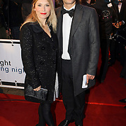 NLD/Amsterdam/20071203 - Premiere The Golden Compass, Elle van Rijn en partner Kaja Wolffers
