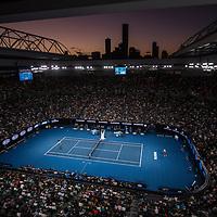A general view of Rod Laver Arena on day ten of the 2017 Australian Open at Melbourne Park on January 25, 2017 in Melbourne, Australia.<br /> (Ben Solomon/Tennis Australia)
