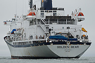 Training Ship Golden Bear returning from 2011 summer cruise