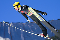 March 23, 2019 - Planica, Slovenia - Maksim Sergeev of Russia in action during the team competition at Planica FIS Ski Jumping World Cup finals  on March 23, 2019 in Planica, Slovenia. (Credit Image: © Rok Rakun/Pacific Press via ZUMA Wire)
