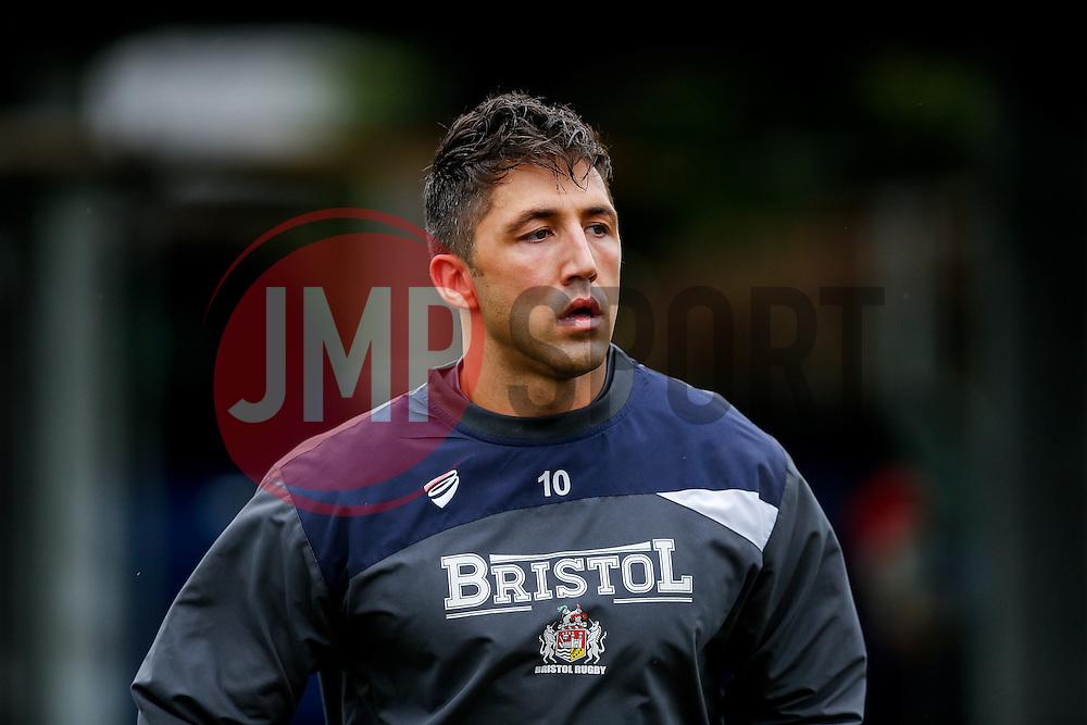 Bristol Rugby Fly-Half Gavin Henson looks on - Mandatory byline: Rogan Thomson/JMP - 06/02/2016 - RUGBY UNION - Clifton Lane - Rotherham, England - Rotherham Titans v Bristol Rugby - Greene King IPA Championship.