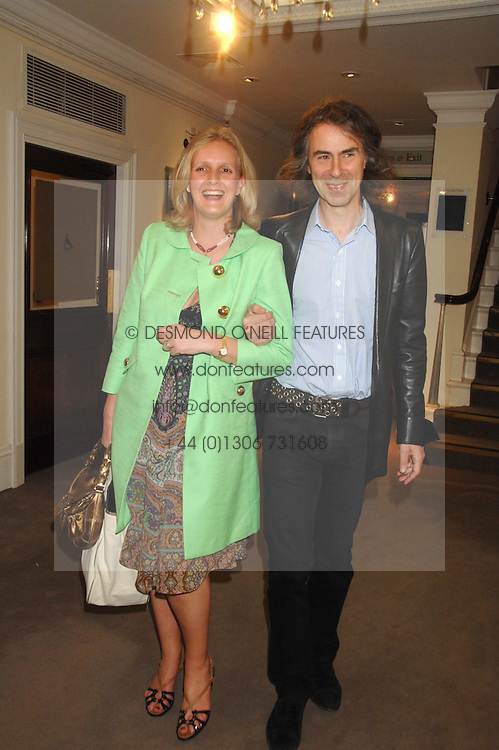 IVOR BRAKA and ALEXANDRA WILLIAMS, she was Alexandra Heseltine at the Sotheby's Summer Party 2007 at their showrooms in New Bond Street, London on 4th June 2007.<br />