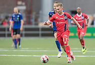 FODBOLD: Anders Holst (FC Helsingør) under kampen i NordicBet Ligaen mellem HB Køge og FC Helsingør den 8. maj 2019 på Capelli Sport Stadion, Køge Idrætspark. Foto: Claus Birch