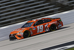 November 2, 2018 - Ft. Worth, Texas, United States of America - Daniel Suarez (19) takes to the track to practice for the AAA Texas 500 at Texas Motor Speedway in Ft. Worth, Texas. (Credit Image: © Justin R. Noe Asp Inc/ASP via ZUMA Wire)