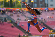 Davisleydi Velazco (CUB) win the Bronze Medal in Triple Jump Women during the IAAF World U20 Championships 2018 at Tampere in Finland, Day 6, on July 15, 2018 - Photo Julien Crosnier / KMSP / ProSportsImages / DPPI