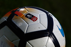 Emirates FA Cup match ball - Mandatory by-line: Ryan Crockett/JMP - 03/12/2017 - FOOTBALL - The Keepmoat Stadium - Doncaster, England - Doncaster Rovers v Scunthorpe United - Emirates FA Cup second round