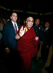 18 May 2013. New Orleans, Louisiana,  USA..His Holiness the 14th Dalai Lama at the University of New Orleans Lakefront Arena for the 'Resiliance - Strength through Compassion and Connection' conference. .Photo; Charlie Varley.