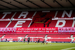 A general view of The City Ground, home of Nottingham Forest during the behind closed doors fixture against Bristol City - Mandatory by-line: Robbie Stephenson/JMP - 01/07/2020 - FOOTBALL - The City Ground - Nottingham, England - Nottingham Forest v Bristol City - Sky Bet Championship