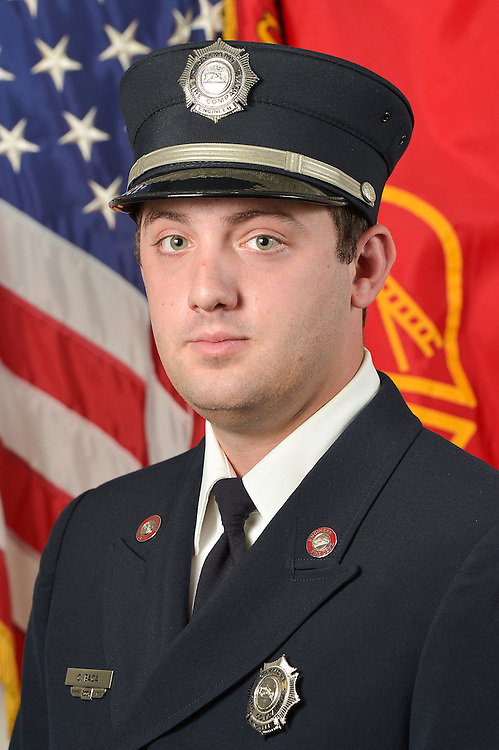 HAVERTOWN, PA - AUGUST 13: Oakmont Fire Company Portraits on August 13, 2012 in Havertown, Pennsylvania. (Photo by Drew Hallowell)