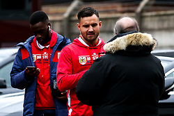 Bailey Wright of Bristol City arrives at the City Ground for the Sky Bet Championship fixture against Nottingham Forest - Mandatory by-line: Robbie Stephenson/JMP - 19/01/2019 - FOOTBALL - The City Ground - Nottingham, England - Nottingham Forest v Bristol City - Sky Bet Championship