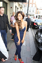 © Licensed to London News Pictures. 28/08/2013. LONDON. Nicole Scherzinger, The X Factor - Press Launch 2013, The Mayfair Hotel, London UK, 29 August 2013. Photo credit : Brett D. Cove/Piqtured/LNP