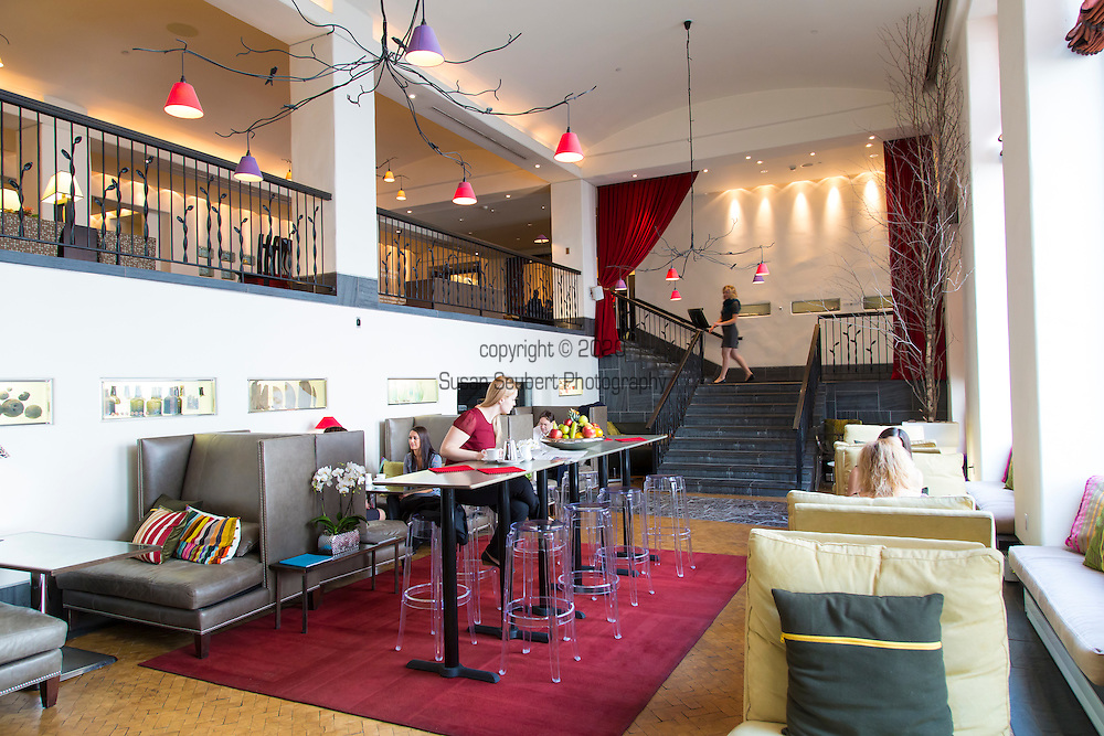 The Auberge Saint Antoine hotel located in Quebec City's Old Port and across the street from the St. Lawrence district was built on an archeological site.  The archeological fragments and finds are incorporated into wall displays throughout the hotel.  The hotel's restaurant is the much celebrated Panache whose menu features local meats and produce.