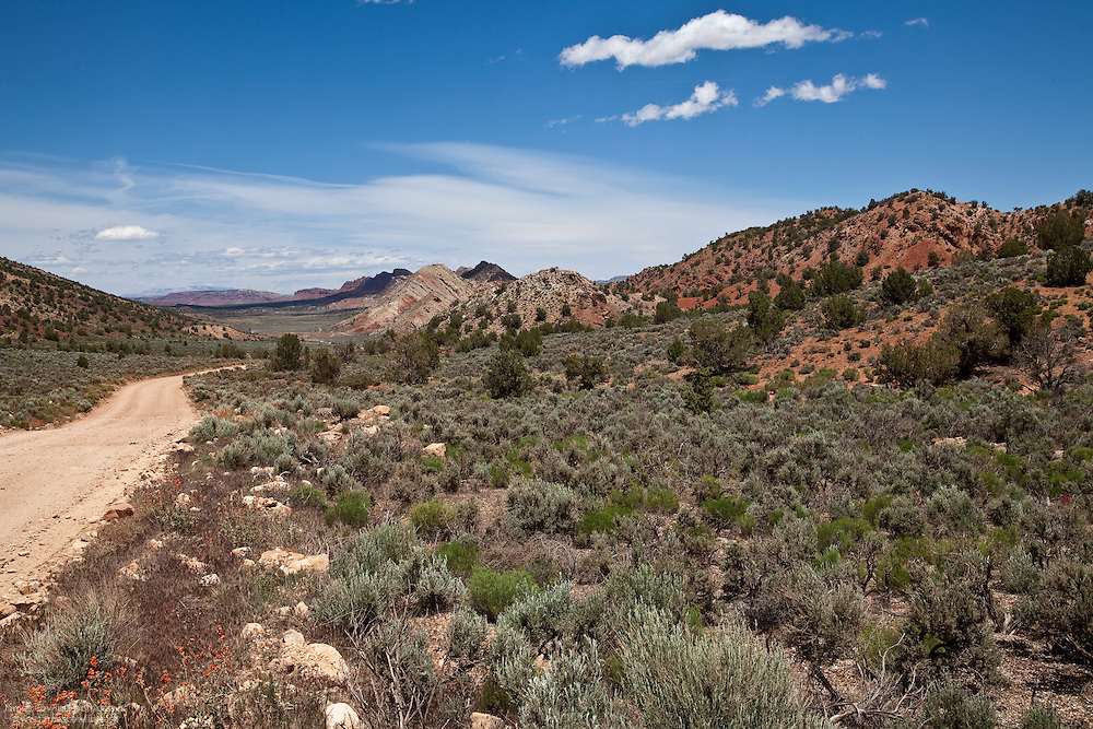 House Rock Valley Road in the Grand Staircase-Escalante National Monument in Utah