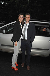 Actress EMILY MORTIMER and her husband ALESSANDRO NIVOLA at the annual Sir David & Lady Carina Frost Summer Party in Carlyle Square, London SW3 on 5th July 2007.<br /><br />NON EXCLUSIVE - WORLD RIGHTS
