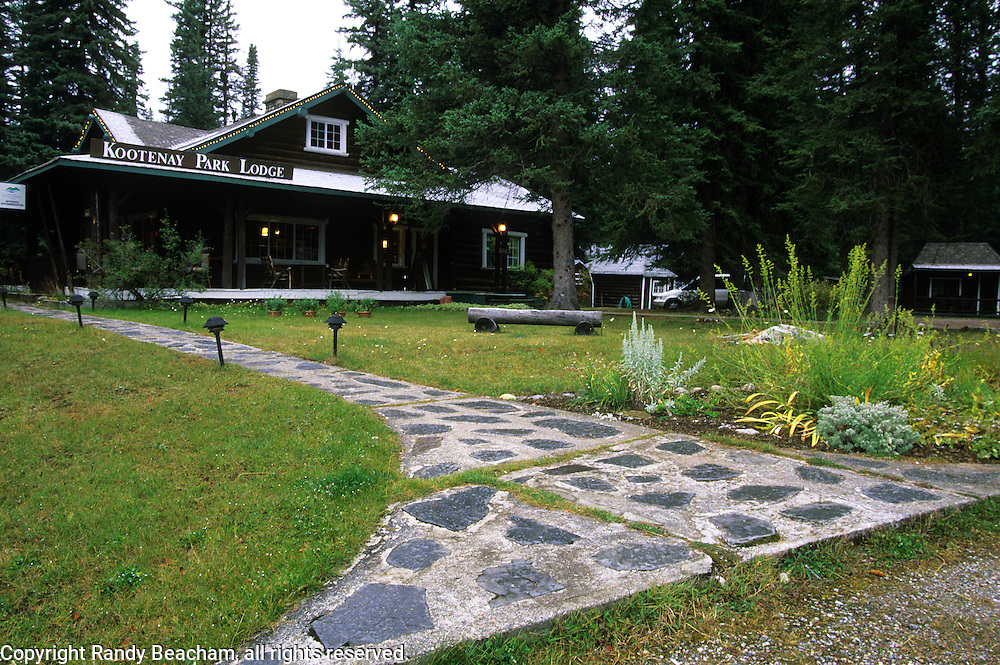Kootenay Park Lodge in Kootenay National Park, southeast British Columbia