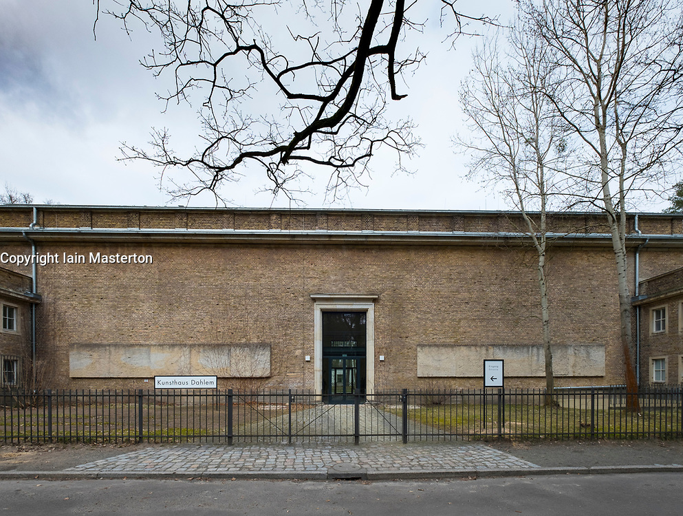 Kunsthaus Dahlem museum, an exhibition venue for postwar German modernism in Dahlem, Berlin , Germany