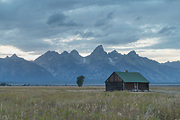 Cabin on Mormon Row, Grand Teton National Park Wyoming