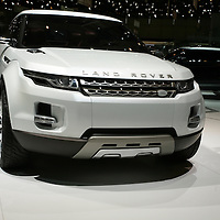 Land Rover LRX Concept (2008), later Range Rover Evoque, at Geneva Motorshow 2008