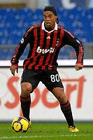 Fotball<br /> Italia<br /> Foto: Inside/Digitalsport<br /> NORWAY ONLY<br /> <br /> ronaldinho (milan)<br /> <br /> 08.11.2009<br /> Lazio v Milan 1-2