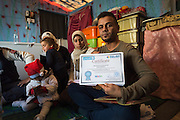 "Mahmoud holds a certificate for a Capacity Building Training course he completed in December 2015. After studying law in Ramadi Mahmoud worked as a Junior Mobilizer with UNICEF for 2 years. When the region fell under the control of the Islamic State group, Mahmoud and his family fled to Iraqi Kurdistan for safety. ""I can't work for UNICEF now because I don't have permission to go to the camps where they are,"" he explains."