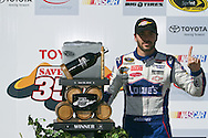 SONOMA, CA - June 20, 2010:  Jimmie Johnson wins the Toyota/Save Mart 350 race at Infineon Raceway in Sonoma, CA.