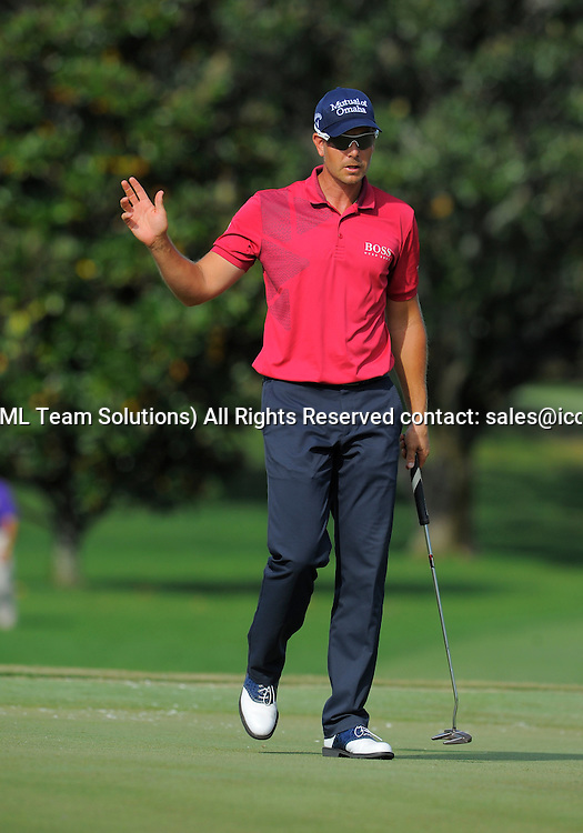 21 March 2015: Henrik Stenson  during the third round of the Arnold Palmer Invitational at Arnold Palmer's Bay Hill Club & Lodge in Orlando, Florida.
