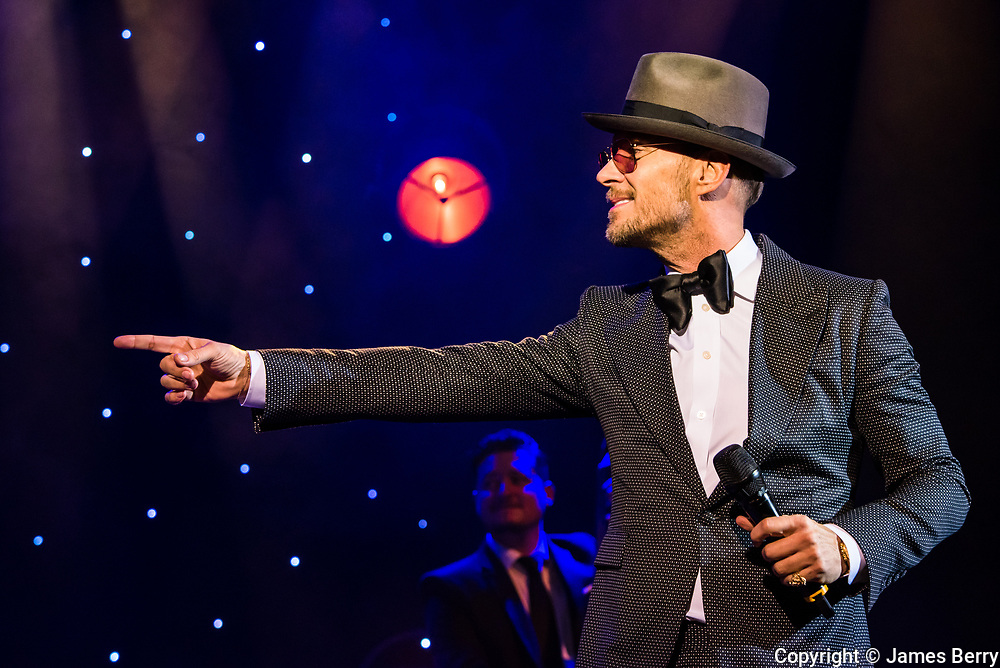 Matt Goss perfoms 'A Matt Goss Christmas' live at Shepherds Bush Empire, London, on Monday 18 December 2017. This was the opening night of a five-night run at the venue.