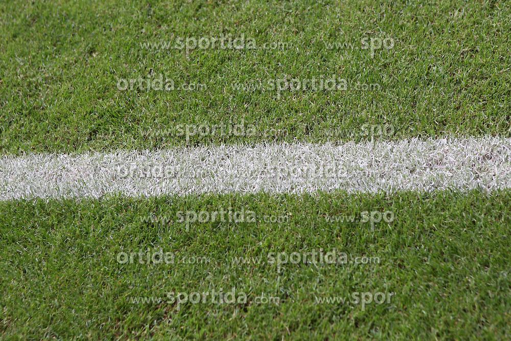 Football: Liga Total Cup 2012, BVB Borussia Dortmund, Hamburg, 05.08.2012.playground, field, line, lines, grass.©Êpixathlon