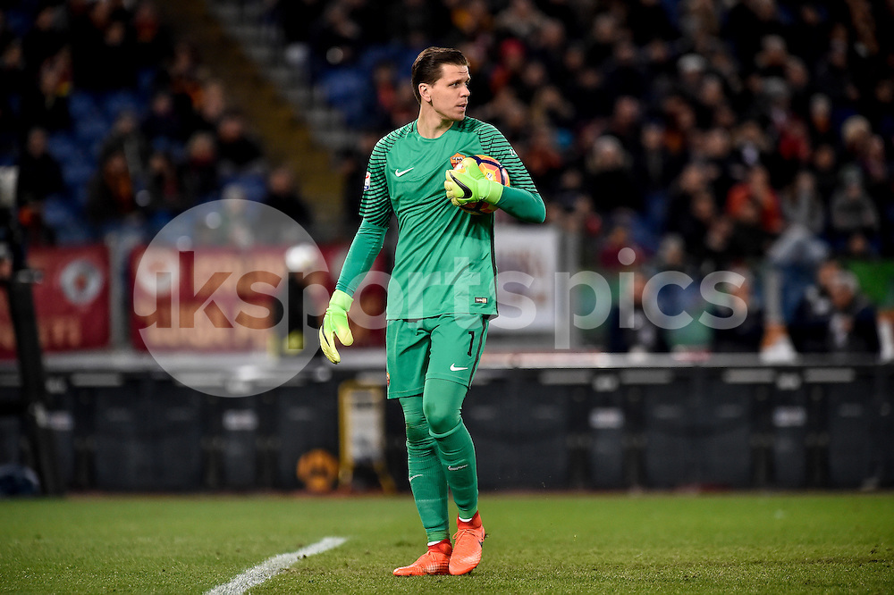 Wojciech Szczesny of AS Roma during the Serie A match between Roma and Torino at Stadio Olimpico, Rome, Italy on 19 February 2017. Photo by Giuseppe Maffia.