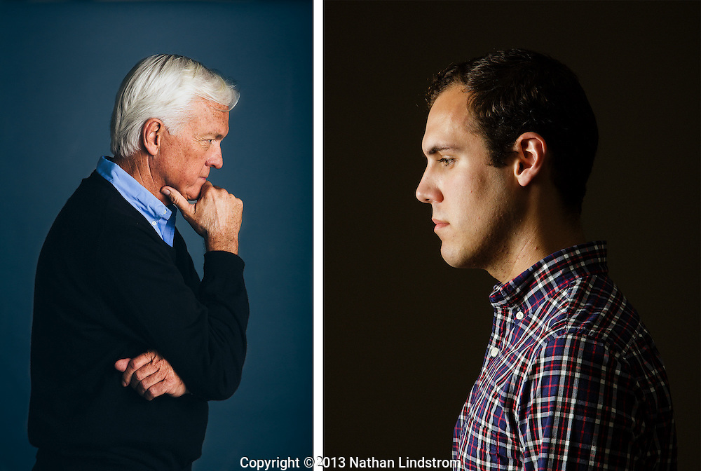 Portraits of contemplation.<br />