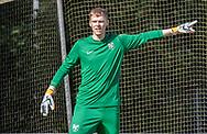 Kasper Pedersen (Ølstykke FC) under kampen i Serie 2 mellem Ølstykke FC og Ejby IF den 7. september 2019 på Ølstykke Stadion. Foto: Claus Birch.