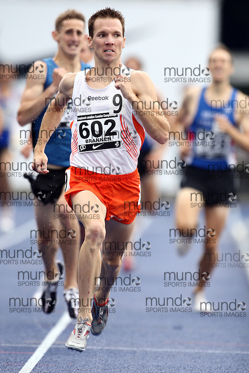 Toronto, Ontario ---28/06/09---  Nathan Brannen competing in  at the Canadian National Track and Field Championships in Toronto, Ontario June 28, 2009..Claus Andersen Mundo Sport Images