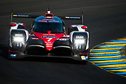 June 13-18, 2017. 24 hours of Le Mans. 7 Toyota Racing, Toyota TS050 Hybrid, Mike Conway, Kamui Kobayashi, Stephane Sarrazin