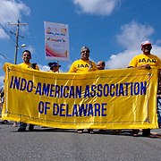 The Indo-American Association of Delaware participate in the Inaugural India Day Parade Saturday. August. 18, 2012. in Hockessin Delaware...Indian's around the world celebrates india's 65th anniversary of india's independence from British rule and the country's birth as a sovereign nation on August 15, 1947.