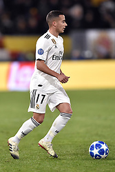 November 27, 2018 - Rome, Rome, Italy - Lucas Vazquez of Real Madrid during the UEFA Champions League match between Roma and Real Madrid at Stadio Olimpico, Rome, Italy on 27 November 2018. (Credit Image: © Giuseppe Maffia/Pacific Press via ZUMA Wire)