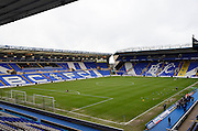 St Andrews pitch during the The FA Cup third round match between Birmingham City and Bournemouth at St Andrews, Birmingham, England on 9 January 2016. Photo by Alan Franklin.