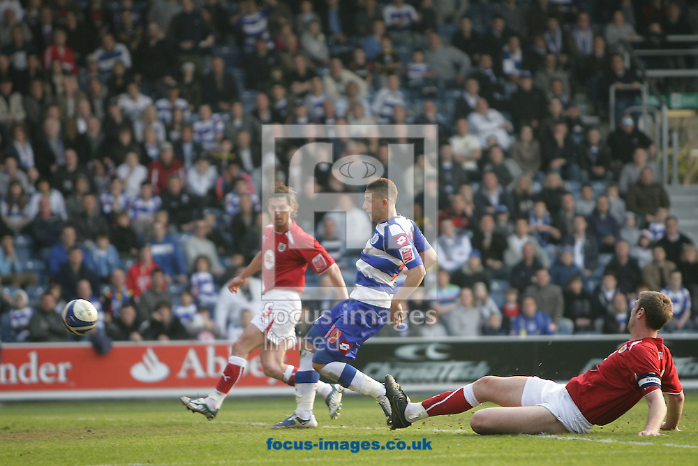 London - Saturday March 21st, 2009: Adel Taarabt (C) scores his side's second goal during the Coca Cola Championship match at Loftus Road, London. (Pic by Mark Chapman/Focus Images)