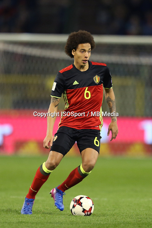 20170325 - Brussels, Belgium / Fifa WC 2018 Qualifying match : Belgium vs Greece / <br />Axel WITSEL<br />European Qualifiers / Qualifying Round Group H /  <br />Picture by Vincent Van Doornick / Isosport