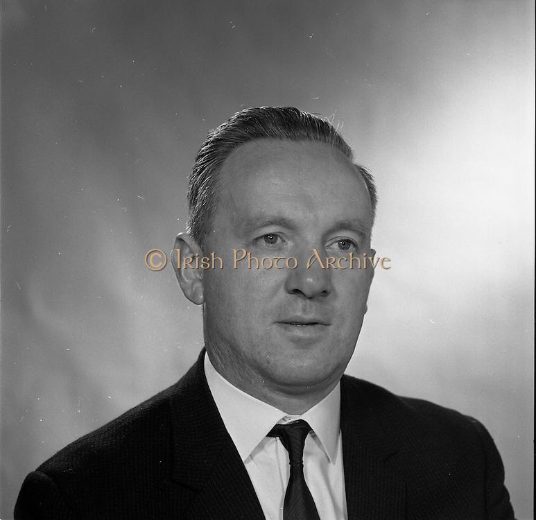 16/09/1968<br /> 09/16/1968<br /> 16 September 1968<br /> Piggybank Grocers at Lensmen studio. Pictured is Thomas Germaine, Crumlin.